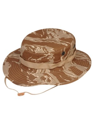 Original DESERT TigerStripe Boonie hats with Loops