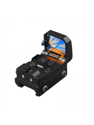 RMT Flip Red Dot Sight VISM Pistol Scope Folding Reflex Red Dot Sight High-quality 10 level Brightness Adjustment with Mount