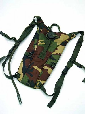 US Army 3L Hydration Water Backpack Camo Woodland