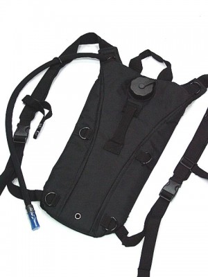 US Army 3L Hydration Water Backpack Black