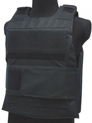 Black Hawk Down Body Armor Plate Carrier Vest Black