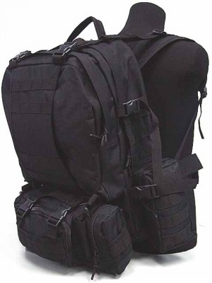 CamelPack Tactical Molle Assault Backpack Black