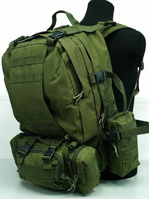 CamelPack Tactical Molle Assault Backpack OD