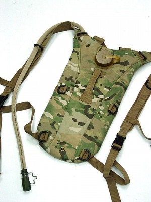 US Army 3L Hydration Water Backpack Multi Camo