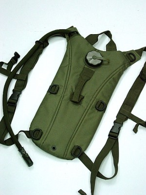 US Army 3L Hydration Water Backpack OD