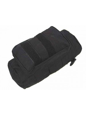 Molle Water Bottle Medic Pouch Black
