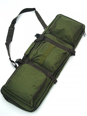 "33"" Dual Rifle Carrying Case Gun Bag OD #B"