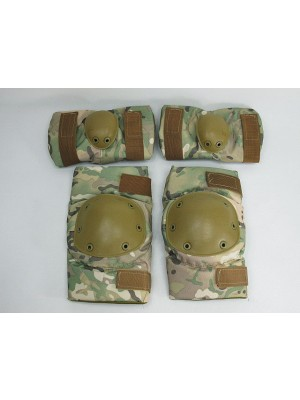 SWAT Special Force Knee & Elbow Pads Multi Camo