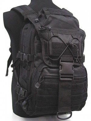 Molle Patrol Gear Assault Backpack Black