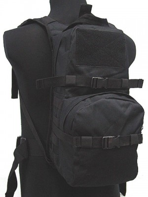 Tactical Utility Molle 3L Hydration Water Backpack Black