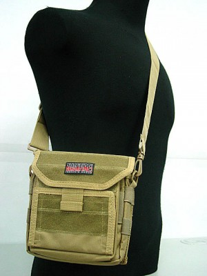 Molle Combat Admin Map ID Pouch Sling Bag Coyote Brown