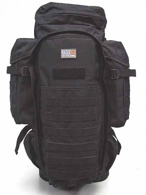 9.11 Tactical Full Gear Rifle Combo Backpack Black