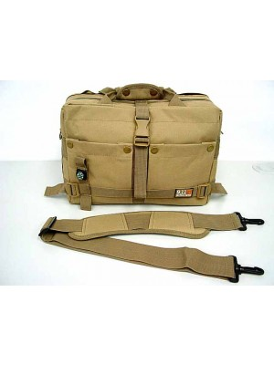 Airsoft Utility Shoulder Camera Bag Case Coyote Brown