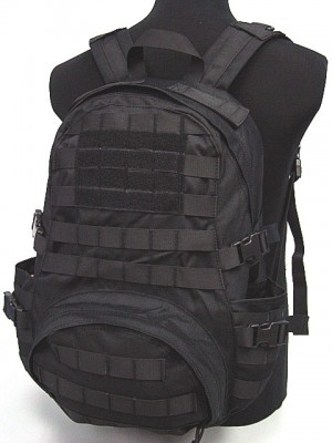 Molle Patrol Series Gear Assault Backpack Black