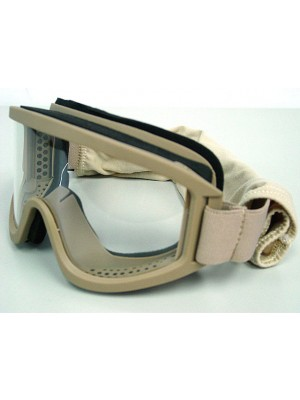 Airsoft X500 SWAT Tactical Goggle Glasses GX2000 Tan