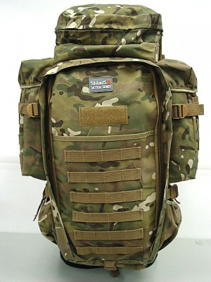9.11 Tactical Full Gear Rifle Combo Backpack Multi Camo