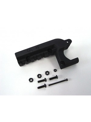 Element Clot 1911 M1911 Pistol Under Rail Mount Black