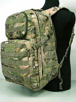 Patrol 3-Day Molle Assault Backpack Multi Camo