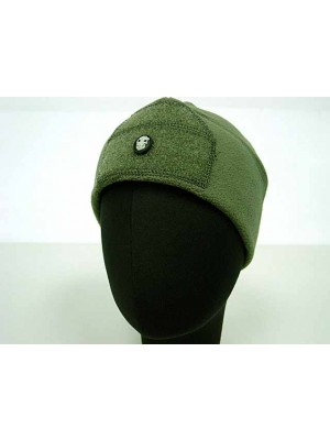 Fleece Velcro Attachment Watch Cap Hat OD