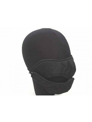 Modular Half Face Protector Mouth Mask Black