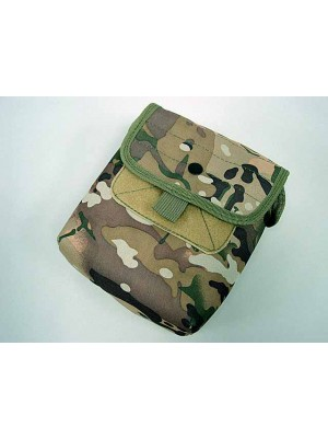 Molle Large Utility Tools Drop Pouch Multi Camo