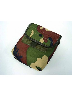 Molle Large Utility Tools Drop Pouch Camo Woodland