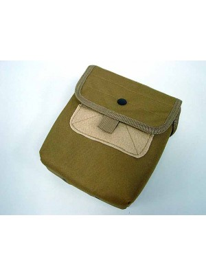 Molle Large Utility Tools Drop Pouch Coyote Brown