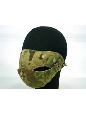 Modular Half Face Protector Mouth Mask Multi Camo