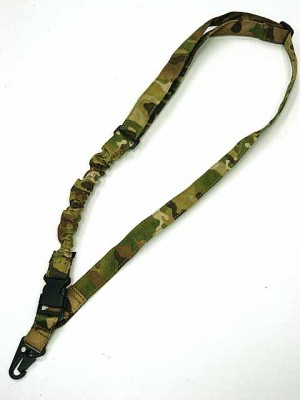 Tactical Bungee One Single Point Rifle Sling Multi Camo
