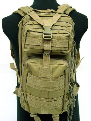 Level 3 Molle Assault Backpack Coyote Brown