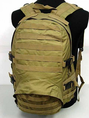 Molle Patrol FSBE Assault Backpack Coyote Brown
