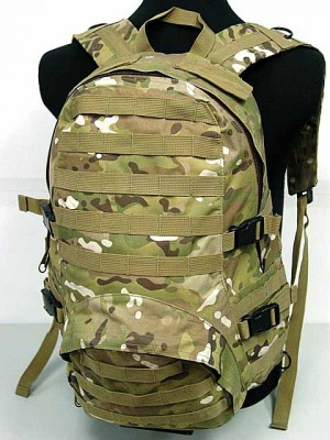 Molle Patrol FSBE Assault Backpack Multi Camo