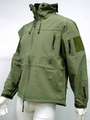 Gen 4 Hoodie Soft Shell Waterproof Jacket OD