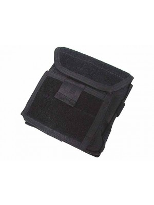 Molle Velcro Combat Admin Map ID Gear Pouch Black