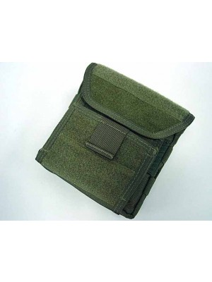 Molle Velcro Combat Admin Map ID Gear Pouch OD