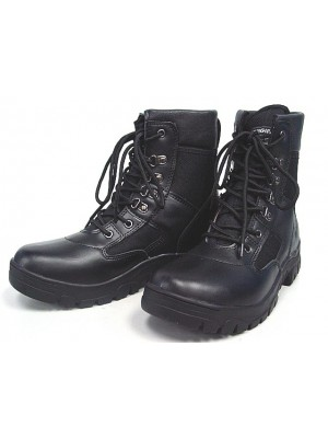 "Original SWAT Style 8"" Tactical Duty Boots Black"