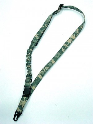 Tactical Bungee One Single Point Rifle Sling Digital ACU Camo