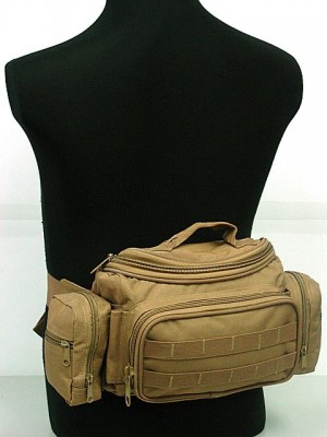 Modular Molle Utility Gear Waist Bag Pouch Coyote Brown