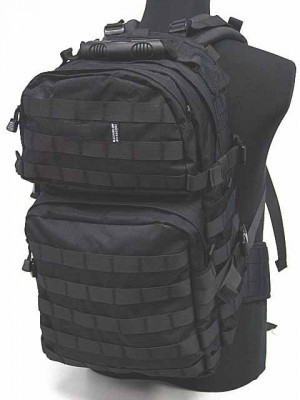 Tactical Molle Cyclone Hydration Gear Backpack Black