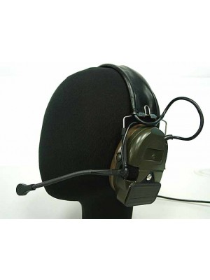Element Comtac I Style Headset OD for Kenwood PTT 2 Pin Radio - Z054 & Z113