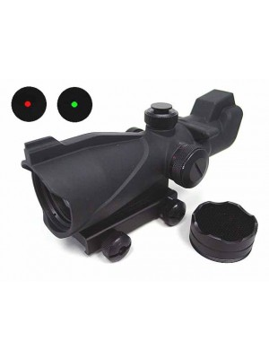 ACOG Type 1x35 Red/Green Dot Sight Scope w/Killflash QD Mount