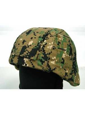 USGI MICH TC-2000 ACH Helmet Cover Digital Camo Woodland #B