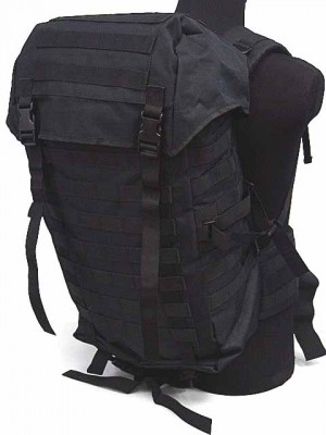 Molle Style Patrol Pack Assault Backpack Black