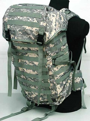 Molle Style Patrol Pack Assault Backpack Digital ACU Camo