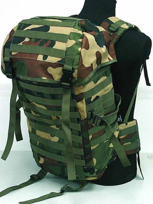 Molle Style Patrol Pack Assault Backpack Camo Woodland