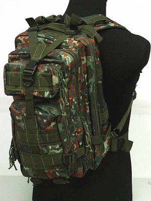 Level 3 Molle Assault Backpack German Camo Woodland