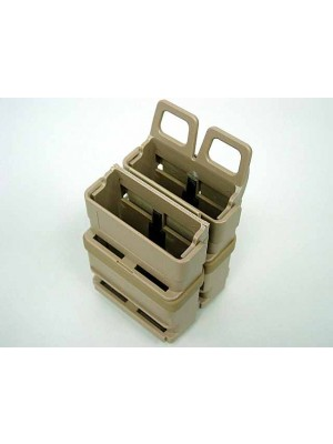 Molle FastMag Magazine Clip Holder Pouch Set Gen. 3 Tan