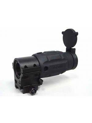 3x Mag Aimpoint Type Red Dot Sight Magnifier Scope w/Twist Mount
