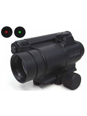 Comp M4 Type Red/Green Dot Sight Scope w/Killflash QD Mount