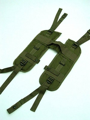 USMC USGI Load Bearing H Harness Suspender OD